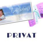 Persönliche Geschenkartikel oder Drucksorten für Hochzeiten, Taufe, Geburtstage